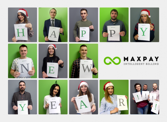 Maxpay's team wishes you happy holidays
