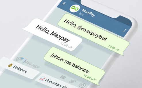 Maxpay Launches the Telegram Bot For the Merchants