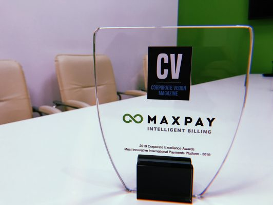 Maxpay was titled the Most Innovative International Payments Platform