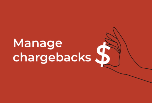 How do I manage chargebacks for a high-risk merchant account?