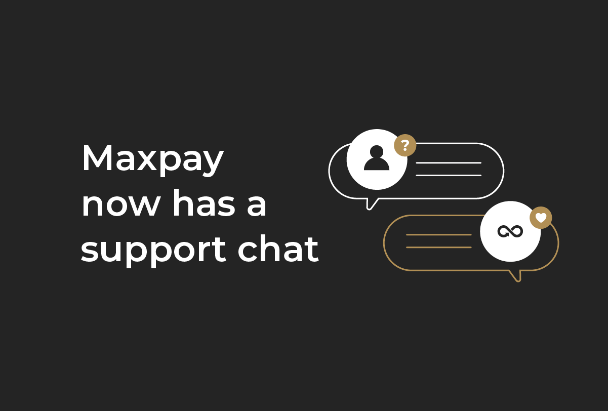 Maxpay has launched a support chat