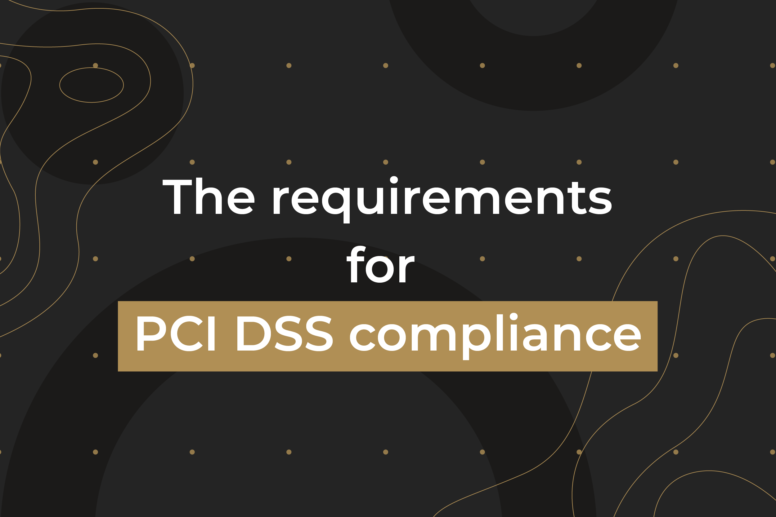 PCI DSS Complaince requirements Maxpay